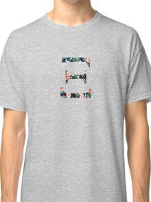 XI Floral Greek Letter Design Classic T-Shirt