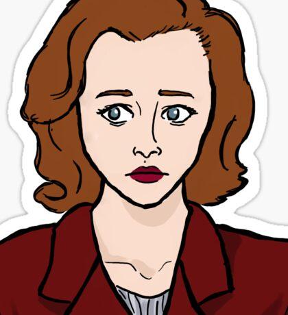 Special Agent Dana Scully Sticker