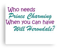 Will Herondale Canvas Print