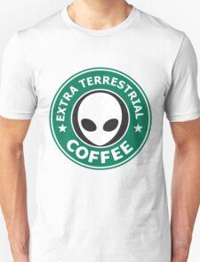 EXTRA TERRESTRIAL COFFEE Unisex T-Shirt