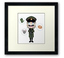 Hungry Raikov Framed Print