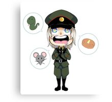 Hungry Raikov Canvas Print