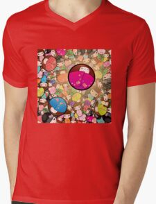 Kokeshi dolls Mens V-Neck T-Shirt