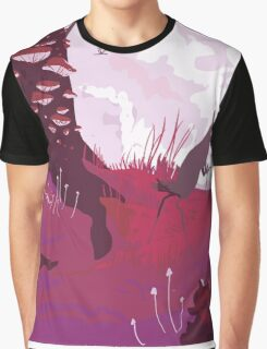 The Pink Velvet Forest Graphic T-Shirt