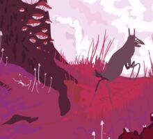 The Pink Velvet Forest Sticker