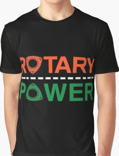 Rotary Power Graphic T-Shirt