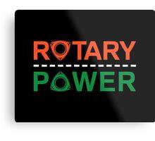 Rotary Power Metal Print