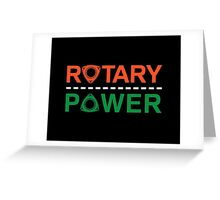 Rotary Power Greeting Card