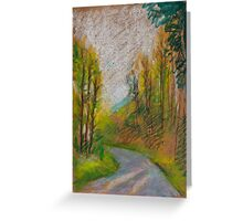 Pastel I Greeting Card