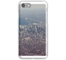 Chicago from the air color photo iPhone Case/Skin