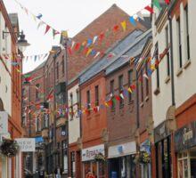 The Party's Over - Durham Street Scene Sticker