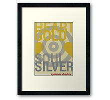 Heart Gold & Soul Silver Framed Print