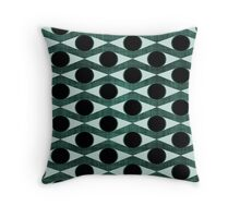 MCM Green Eyed Monster Throw Pillow