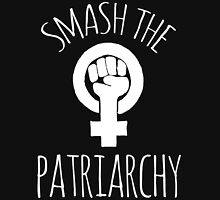 Smash the Patriarchy  Women's Fitted Scoop T-Shirt