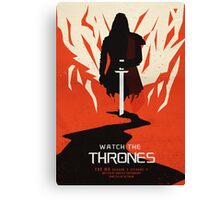 Watch the Thrones Canvas Print