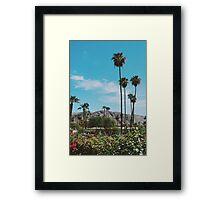 Desert Blooms No.3 (Palm Springs) Framed Print
