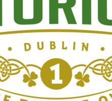 Conor McGregor Champion Sticker