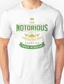Conor McGregor Champion T-Shirt