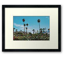 Desert Blooms No.4 (Palm Springs) Framed Print