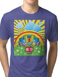 Love Tokyo! Tri-blend T-Shirt