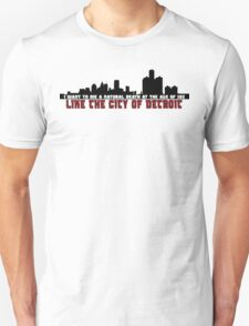 The City of Detroit T-Shirt