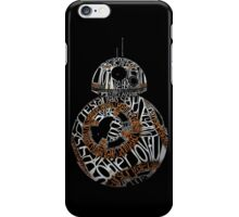 BB-8 Typography iPhone Case/Skin