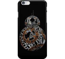 BB-8 Typography iPhone Case/Skin