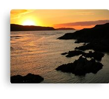 Torrisdale Bay Sunset Canvas Print