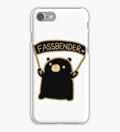 Winnie Fassbender!  iPhone Case/Skin