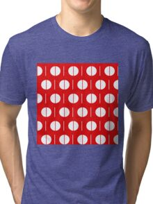 MCM Red Spurk Tri-blend T-Shirt