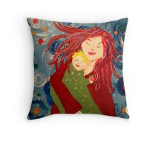 Angela's baby Throw Pillow