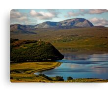 Castle Varrich Canvas Print