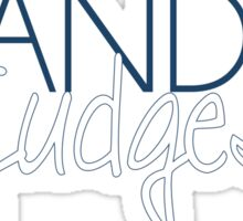 Brandeis University Sticker