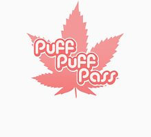 PUFF PUFF PASS Women's Fitted V-Neck T-Shirt