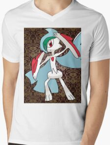 Mega Gallade Mens V-Neck T-Shirt