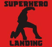 Superhero Landing One Piece - Long Sleeve