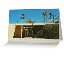 Mid Century Modern (Palm Springs) Greeting Card