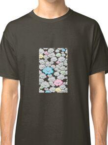 Kawaii Little Colourful Clouds Classic T-Shirt