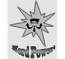 Nerd Power Photographic Print