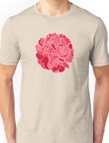 Red Peony Unisex T-Shirt