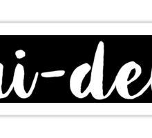 Tri-Delt Sticker