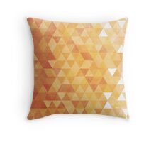 Isometric Summer Throw Pillow