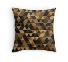 Isometric Autumn Throw Pillow