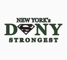 NYC DSNY Strongest One Piece - Short Sleeve