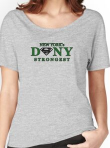 NYC DSNY Strongest Women's Relaxed Fit T-Shirt