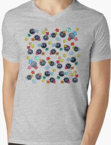 Soot Sprites and Star Candy Mens V-Neck T-Shirt