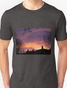Dusky purples Unisex T-Shirt