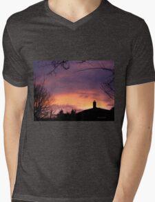 Dusky purples Mens V-Neck T-Shirt