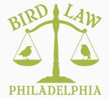Bird Law Philadelphia (ALWAYS SUNNY) One Piece - Short Sleeve