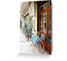 Bicycles of Italy Greeting Card